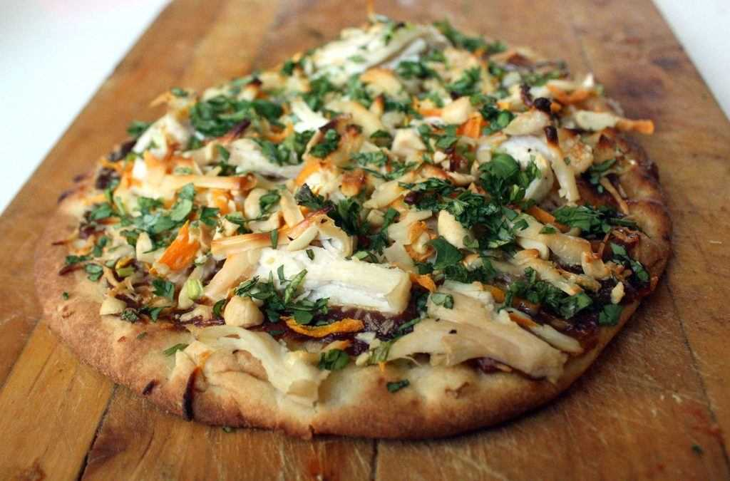 Naan Pizza: swap out that boring pizza dough