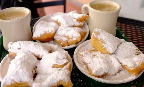 beignets, cafe du monde