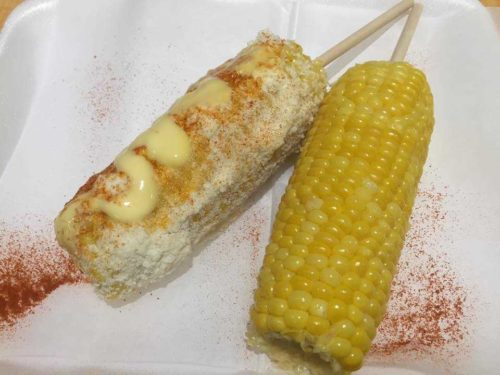 elotes grilled mexican corn in chicago