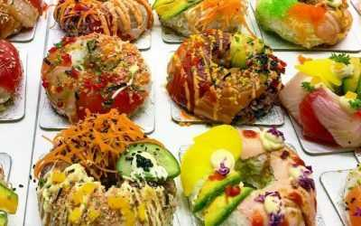 """Sushi Donuts: a 2000-year-old tradition has """"evolved"""""""