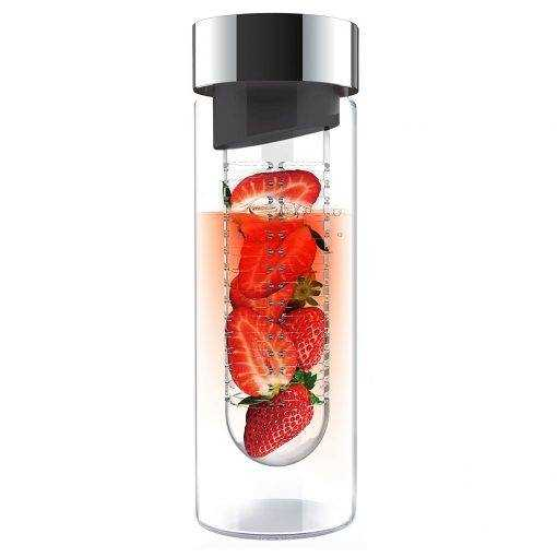 glass water bottle fruit infuser gifts for foodies and food lovers