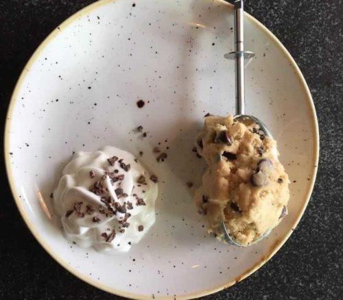 raw cookie dough in boston cambridge massachusetts