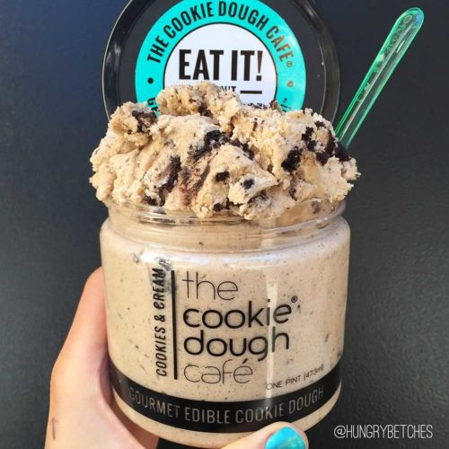 edible raw cookie dough in USA nationwide supermarkets