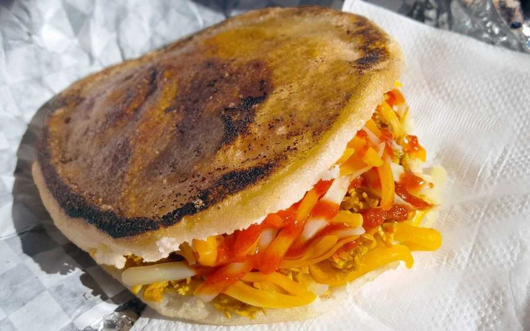 Arepas: stuffed sandwiches filled with Latin flavor