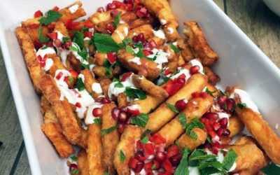 Halloumi fries: hallou from the other side