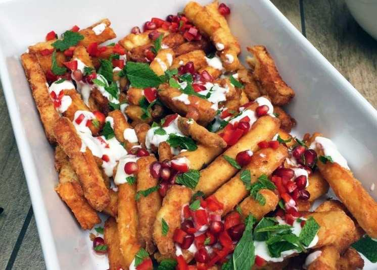halloumi fries on glutto digest