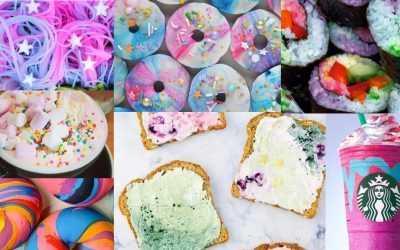 Unicorn food: see the rainbow, taste the rainbow