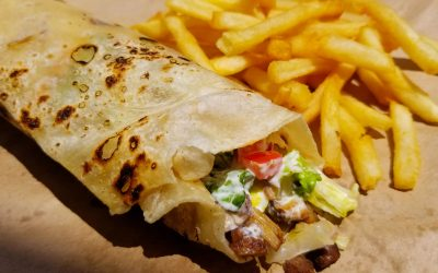 "Shawarma: a meal fit for ""The Avengers"""