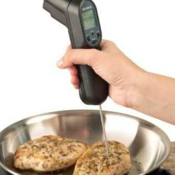 laser cooking thermometer