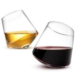 foodie food lover gifts spill-resistant wine glasses