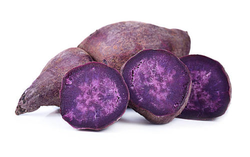 exotic vegetables purple yam ube