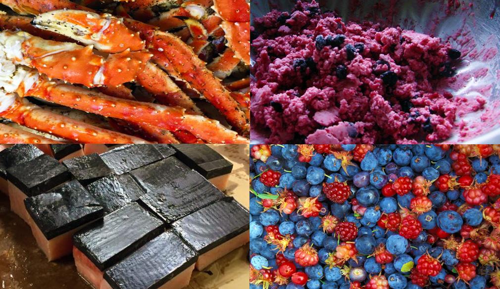 alaskan foods delicacies alaska