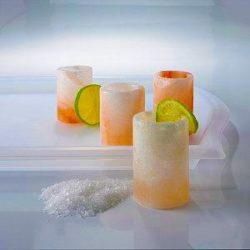 foodie food lover gifts himalayan salt shot glasses