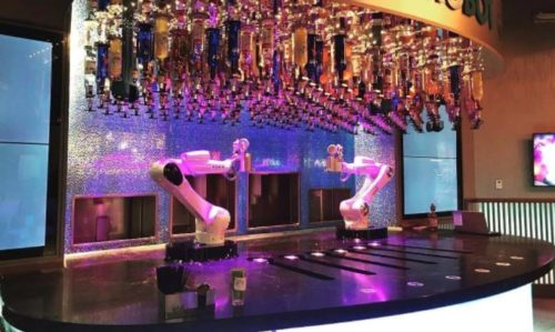 automated restaurants las vegas nevada tipsy bartender
