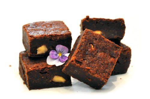 danconia's truffle brownies