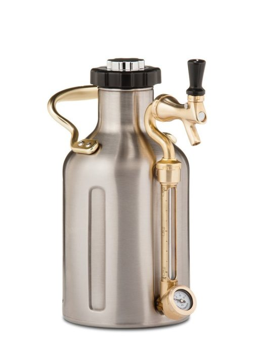 foodie food lover gifts craft beer pressurized growler