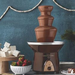 foodie food lover gifts chocolate fountain