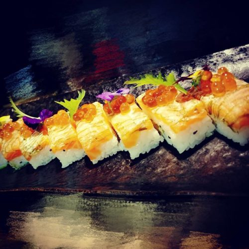 oshizushi pressed sushi new york