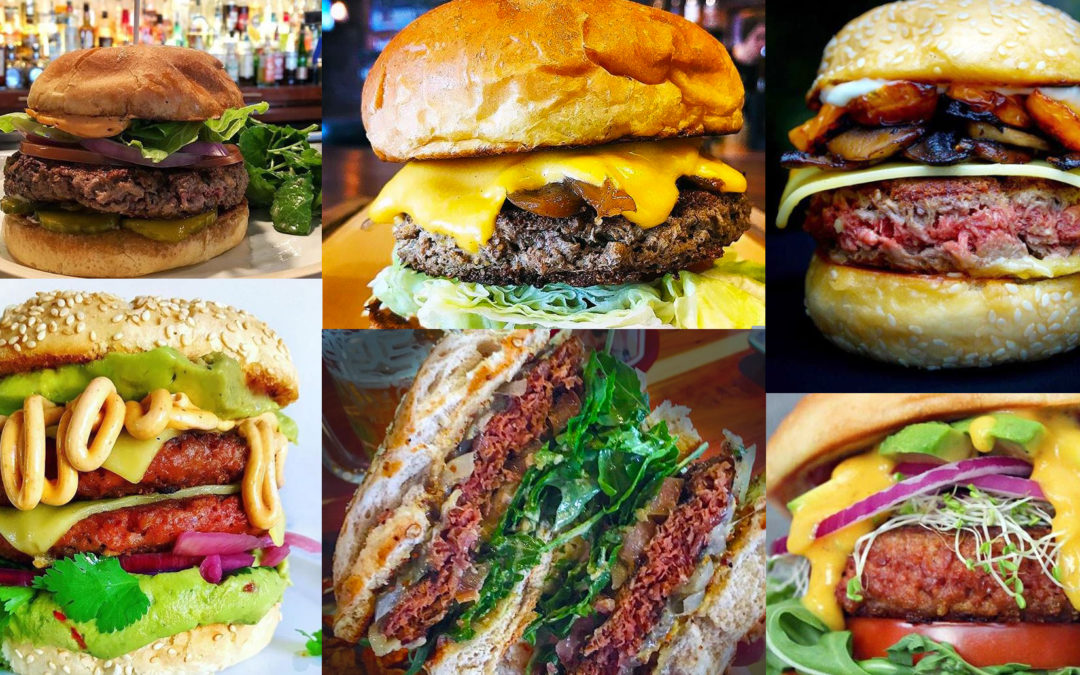 The Impossible Burger and Beyond Burger: veggie burgers made for carnivores