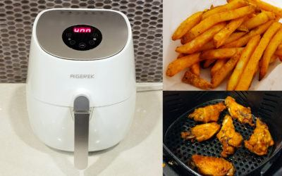 Air Fried Foods: Dump that deep fryer. Eat healthier with an air fryer.