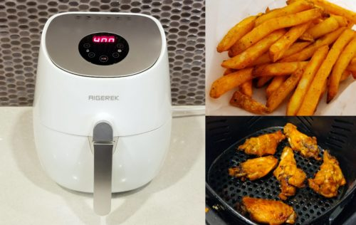 The best price, cost and reviews to buy new, top rated, pro digital, electric power, healthy (no oil) hot & dry air fryer...get the best deals on the market for sale online by Aigerek