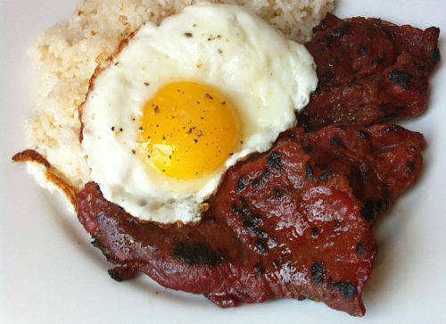 Find out what is, how to make and where to find, buy, and order the best beef tapsilog, silog, longsilog, tosilog, bangsilog and spamsilog including menu, recipe and meals at bistro express restaurants near you.