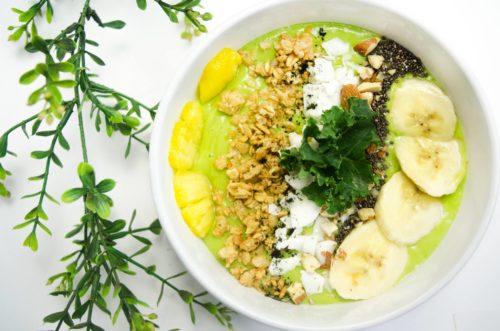 moringa malunggay green smoothie bowl