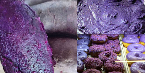 What is filipino ube, how to make it and where to buy it including a delicious Phillipines ube flavored ice cream recipe featuring taro and sweet purple yam plant ingredients.