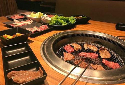 yakiniku Japanese style bbq grill restaurant