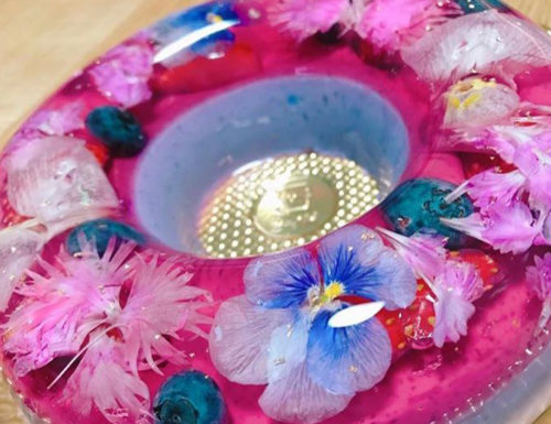 japanese havaro gelatin art jello flowers cake dessert