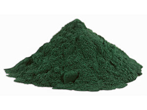 spirulina green blue powder superfood
