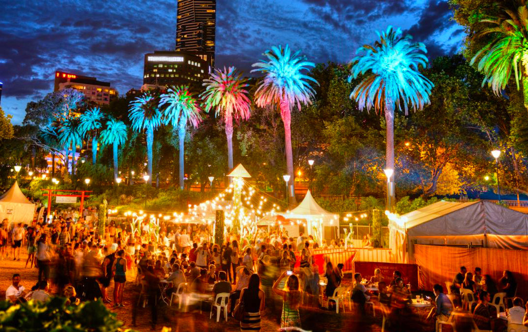 Night Markets: street food vendors as far as the eye can see