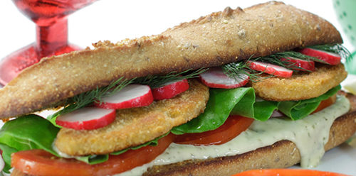 vegan fish sandwich heritage health foods