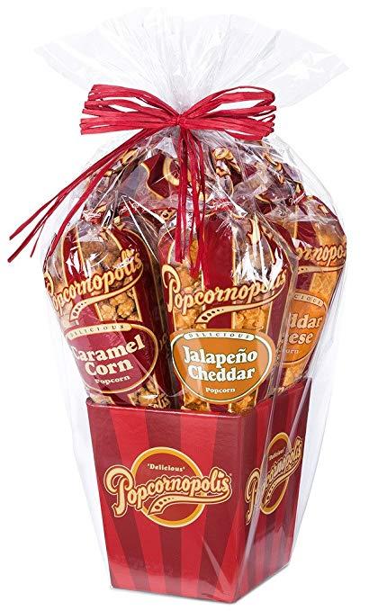 foodie food lover gifts gourmet popcorn gift basket