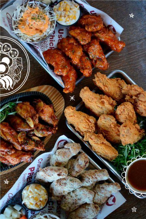 korean fried chicken kfc pelicana chicken