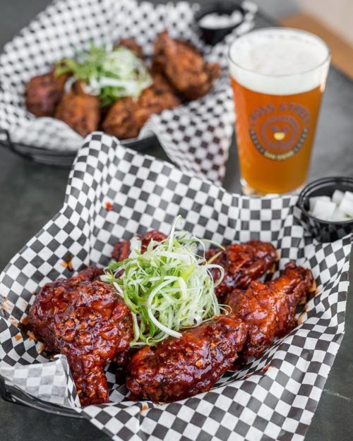 korean fried chicken kfc cross street chicken beer