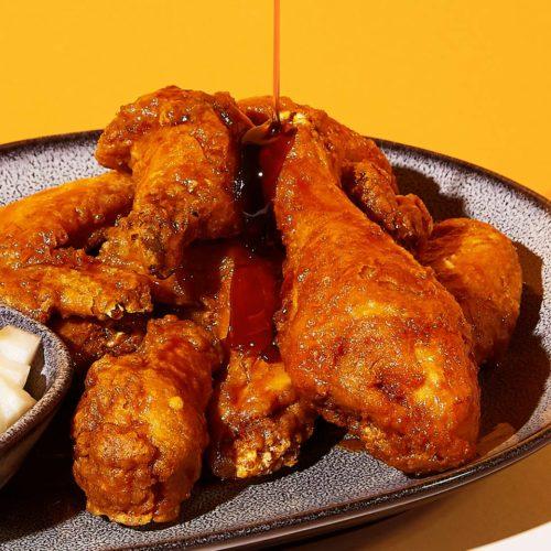 korean fried chicken bonchon