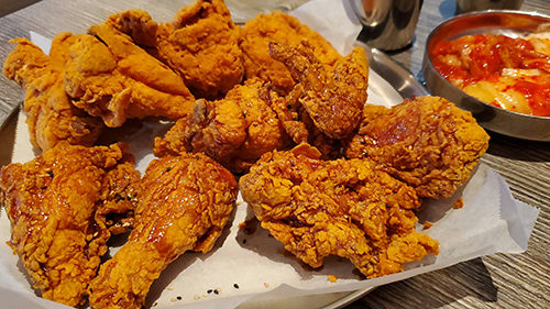 korean fried chicken kfc