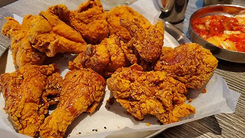 korean fried chicken kfc