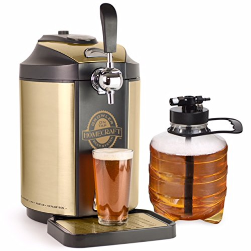 foodie food lover gifts on tap beer growler cooling system