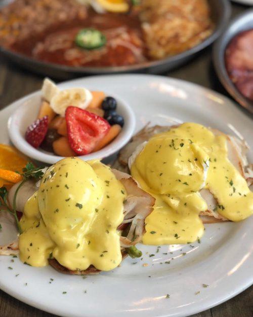 neveda lake tahoe regional foods eggs benedict