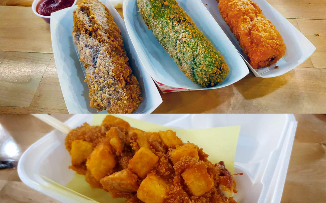 Korean Hot Dogs: corn dogs with a flair