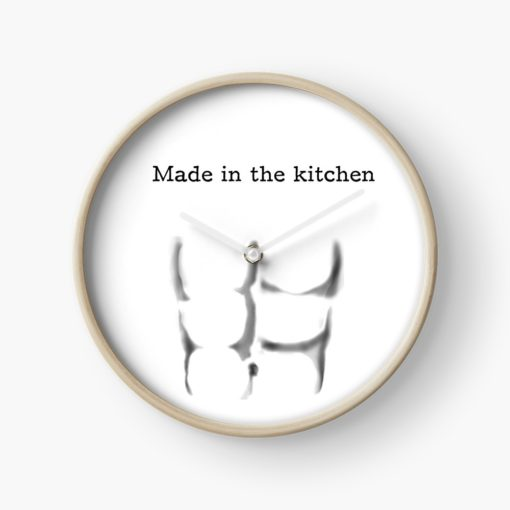 abs are made in the kitchen clock accessories
