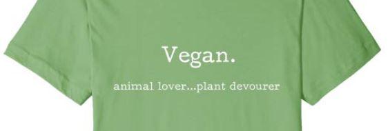 vegan tshirt funny clever animal lover plant devourer