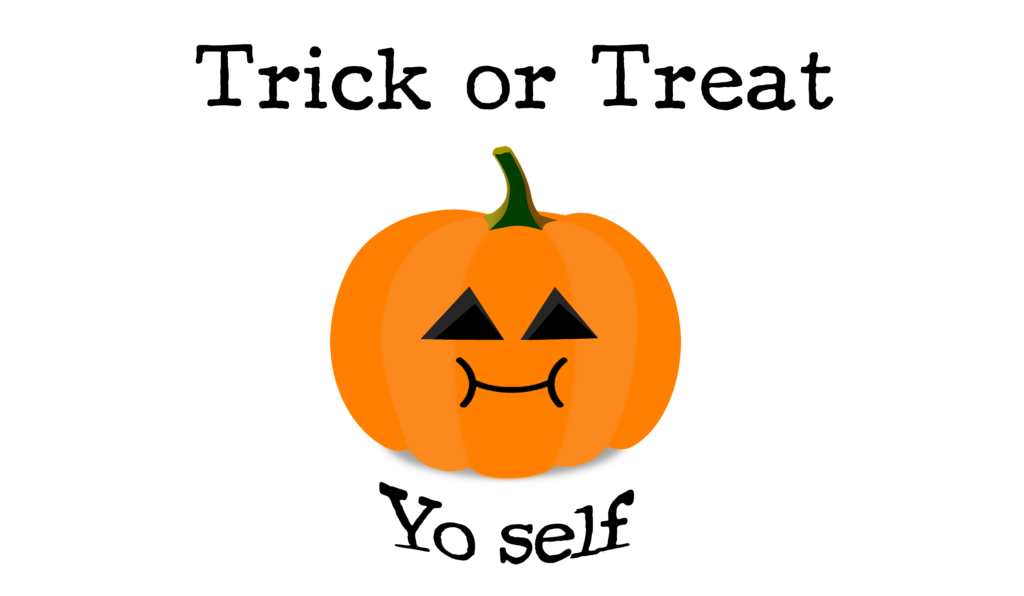 trick or treat yo self copyrighted image