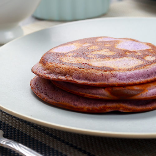 ube pancakes