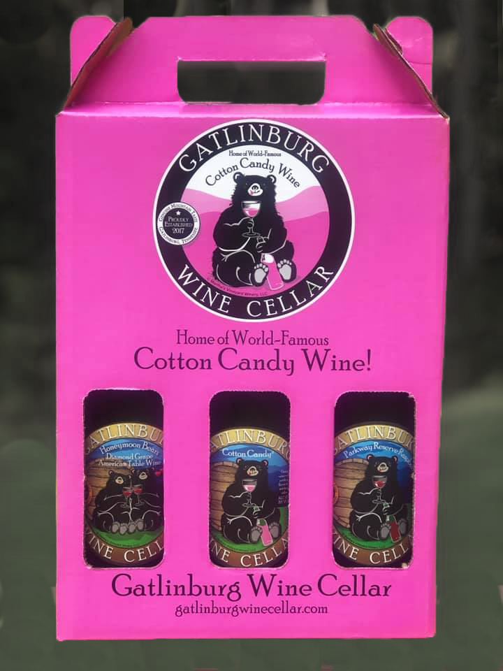 gatlinburg cotton candy wine